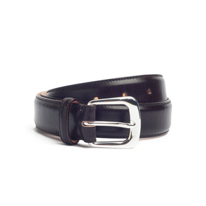 Leather Belt Chocolate Brown