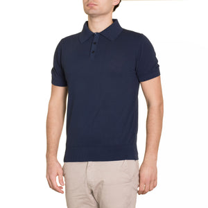Short Sleeve Polo Shirt Dark Navy