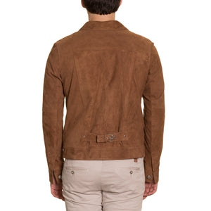 Suede Tracked Jacket