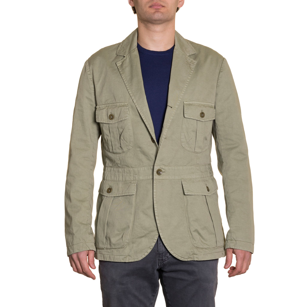 Sahariana Jacket Military Green