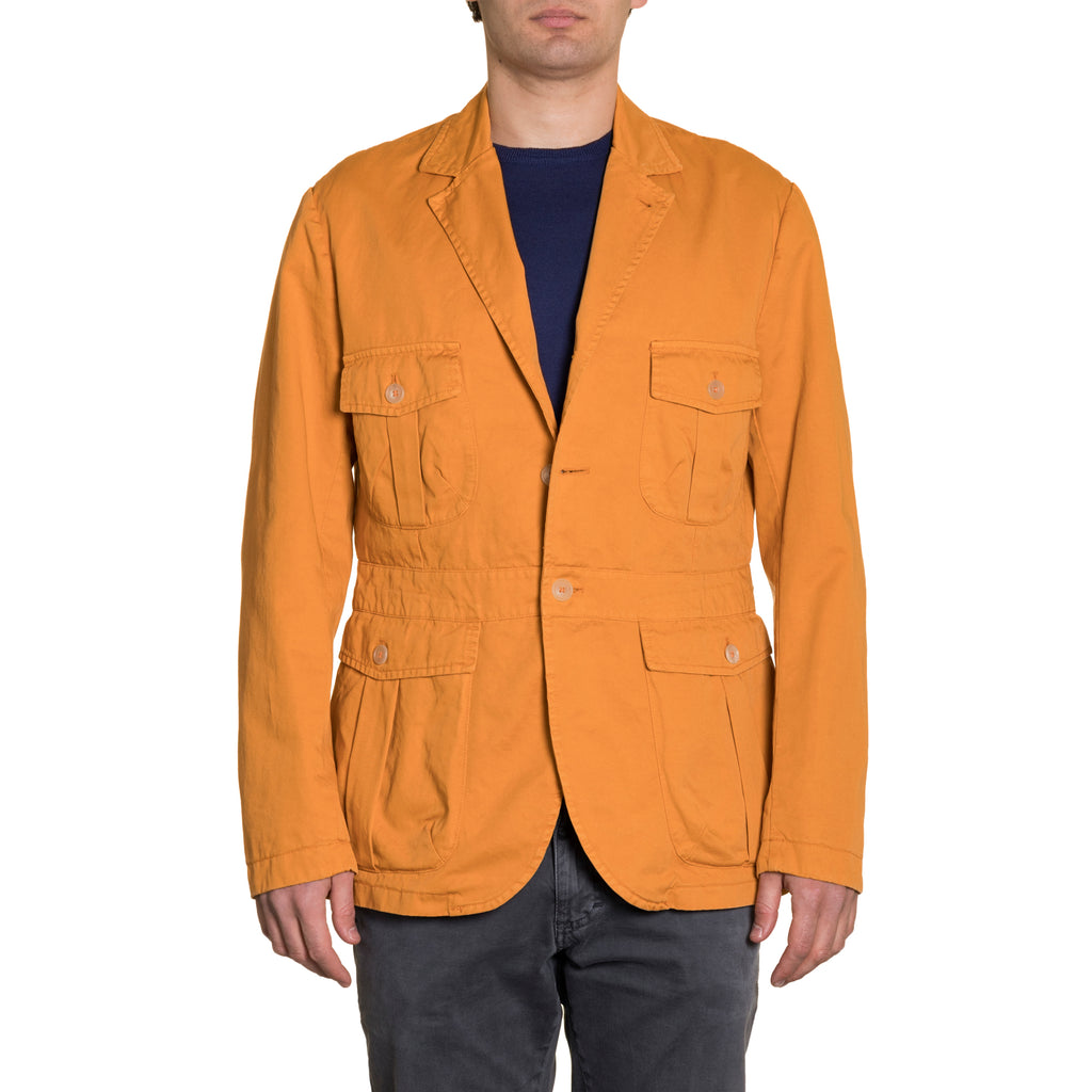 Sahariana Jacket Orange
