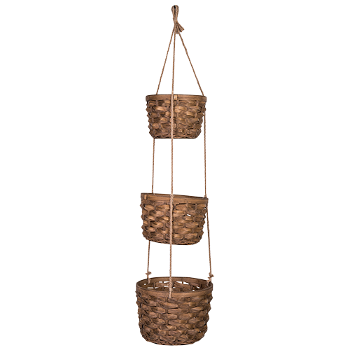 3 Tier Hanging Baskets - 102cm