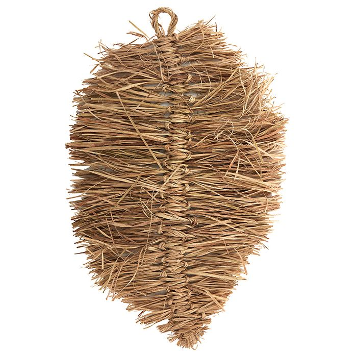 Leaf Jute Wall Hanging