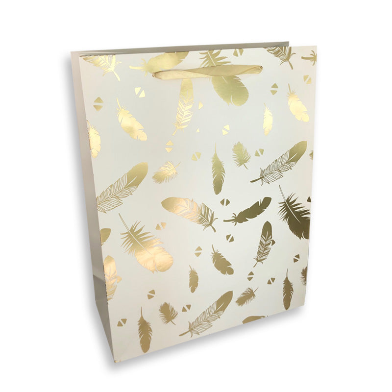 Medium Foil Leaf Gift Bag