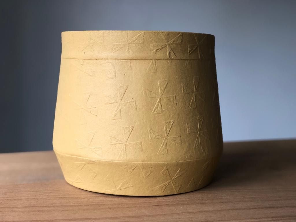 Pressed Paper Discover Design Pot