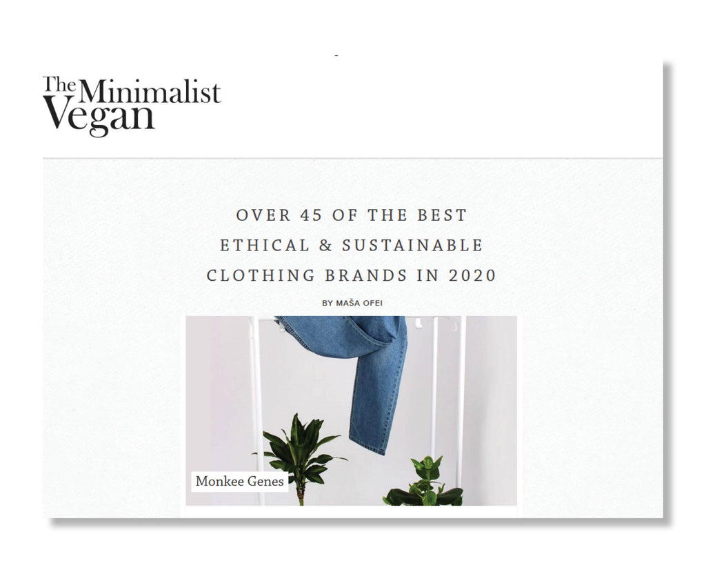 "The Minimalist Vegan: ""Over 45 of The Best Ethical & Sustainable Clothing Brands in 2020"""