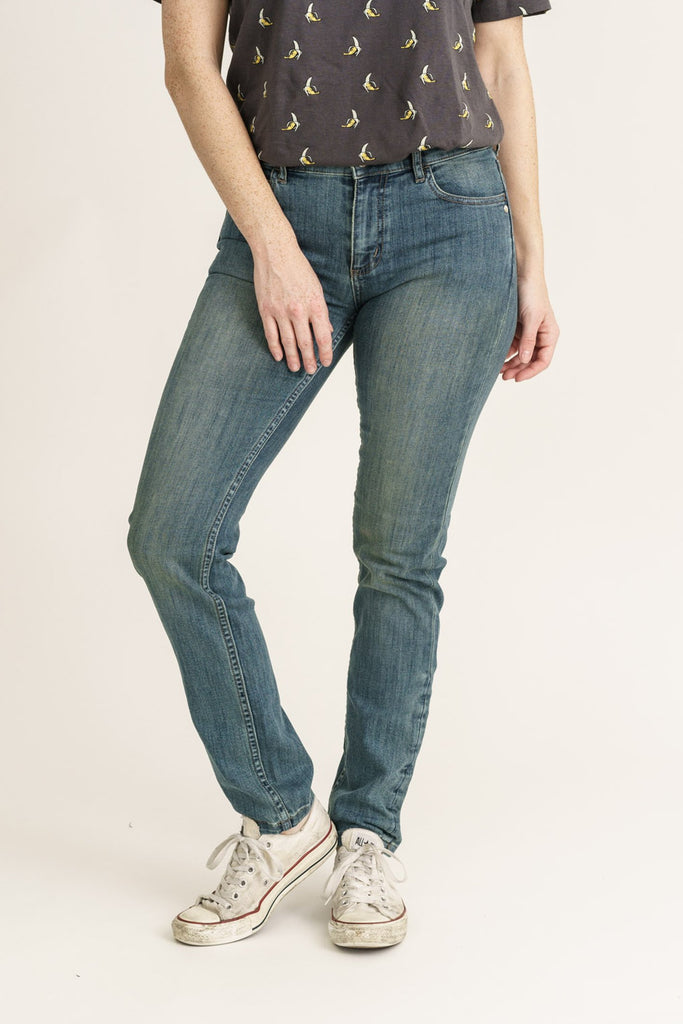 Beat Denim Organic Classic Skinny Jeans - Monkee Genes Organic Jeans Denim - Women's Classic Skinny Monkee Genes Official  Monkee Genes Official