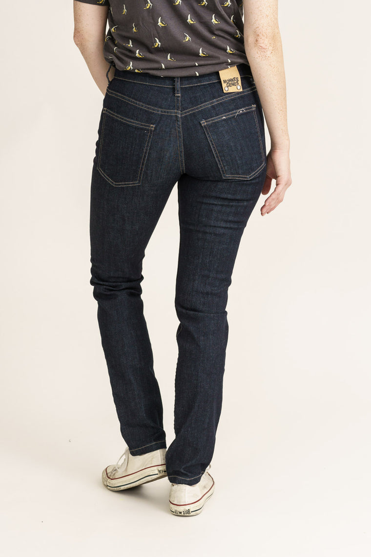 CLASSIC SKINNY // Organic Classic Skinny Jeans in Rinse Wash