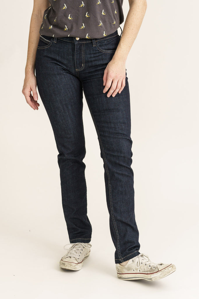 CLASSIC SKINNY // Organic Classic Skinny Jeans in Rinse Wash - Monkee Genes Organic Jeans Denim - Women's Classic Skinny Monkee Genes Official  Monkee Genes Official