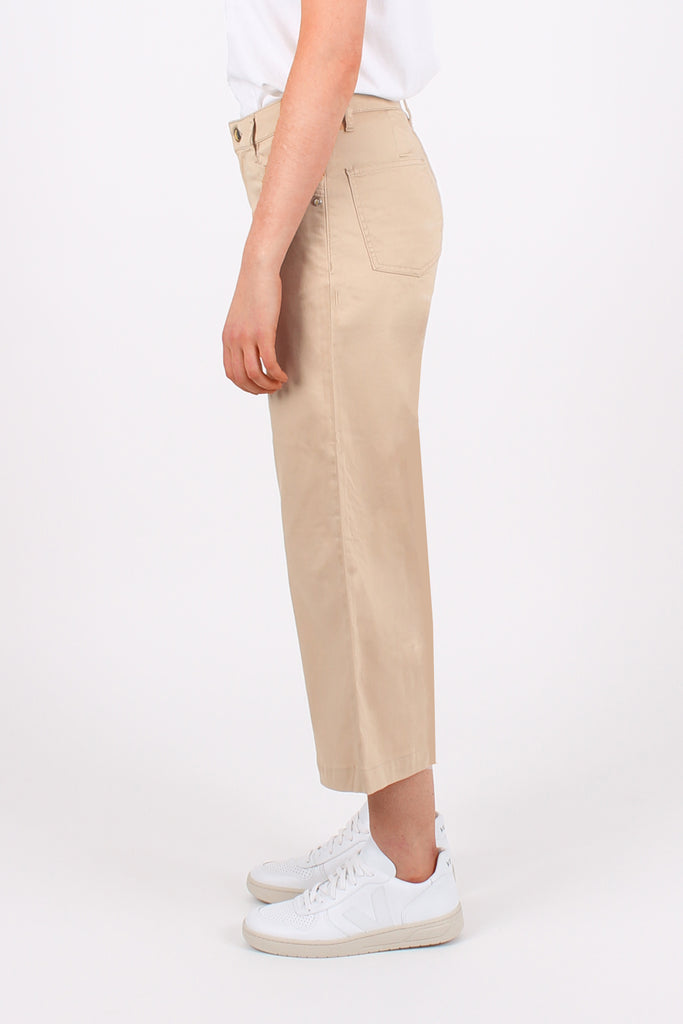 Camel Organic Sateen Cropped All-Niter - Monkee Genes Organic Jeans Denim - Women's Cropped Monkee Genes Official  Monkee Genes Official