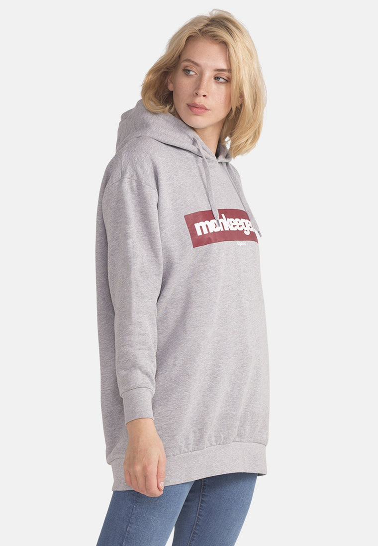 Women's Organic Cotton Hoody in Grey