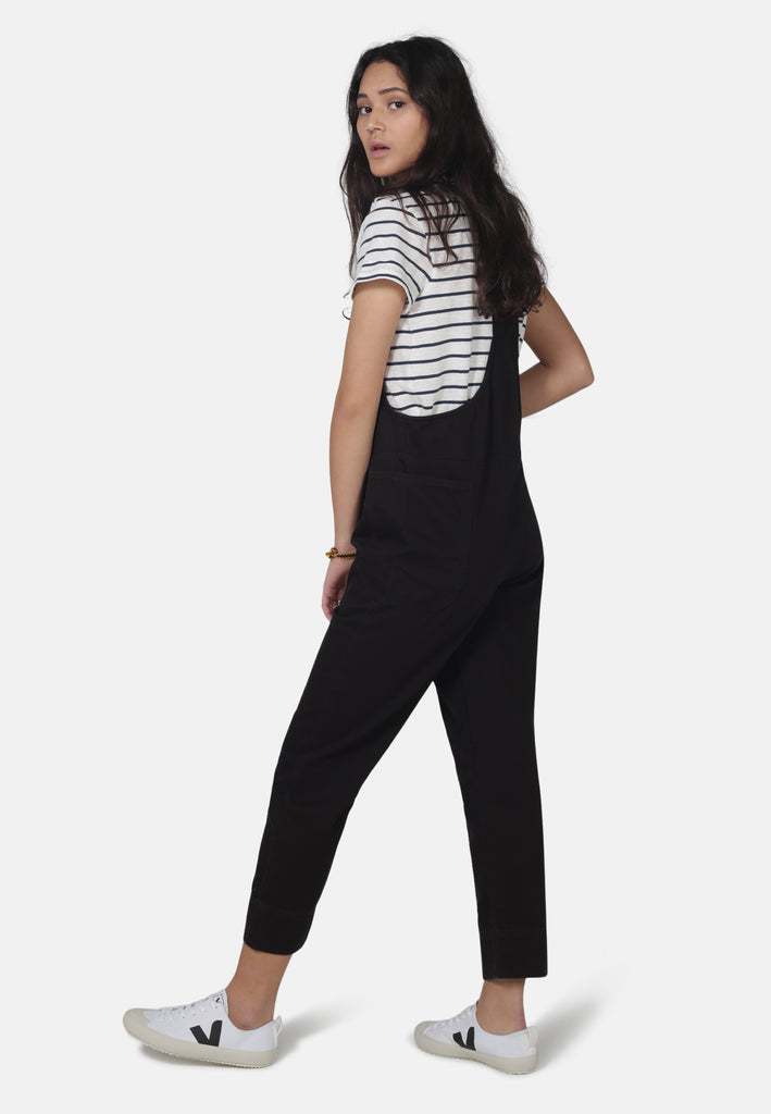 DUNGAREES // Organic Overall Dungarees in Black Denim - Monkee Genes Organic Jeans Denim - Women's Dungarees Monkee Genes Official  Monkee Genes Official