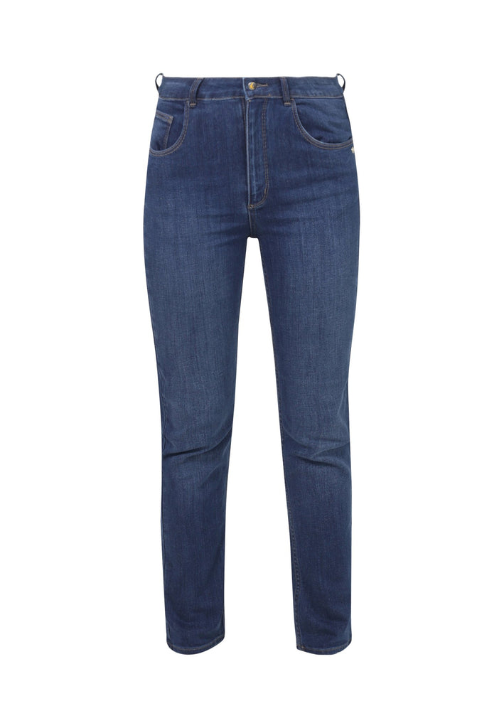 EMILY // Organic Slim Fit Jeans in Dark Wash - Monkee Genes Organic Jeans Denim - Women's Slim Fit Monkee Genes Official  Monkee Genes Official