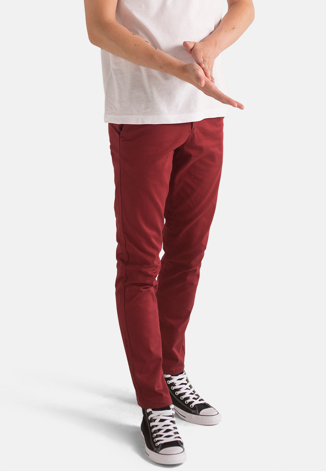 Organic Chino in Wine - Monkee Genes Organic Jeans Denim - Men's Chinos Monkee Genes Official  Monkee Genes Official
