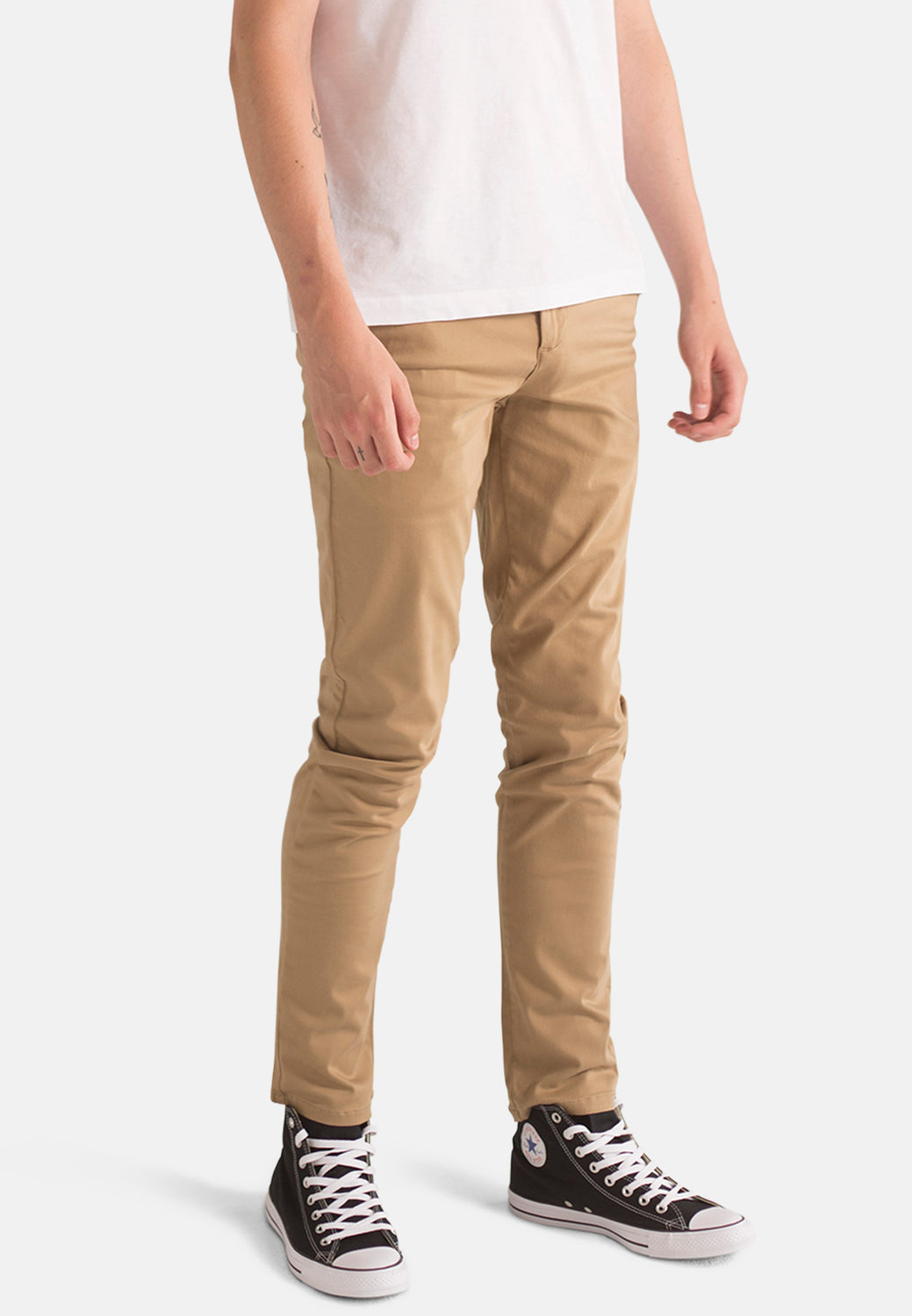 Organic Chino in Dark Buff - Monkee Genes Organic Jeans Denim - Men's Chinos Monkee Genes Official  Monkee Genes Official