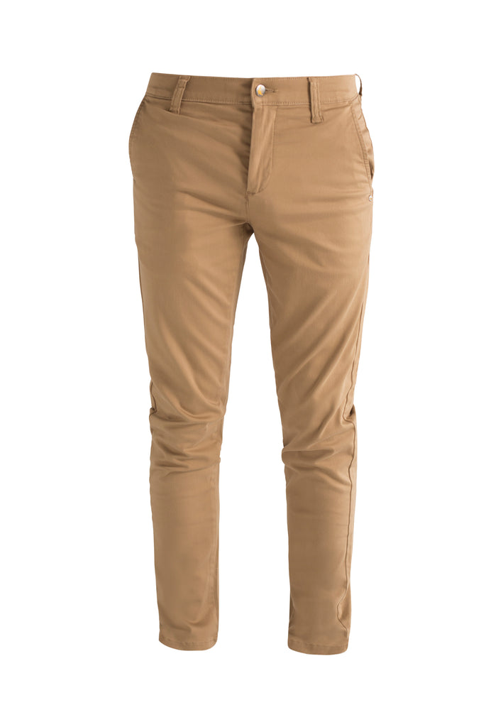 CHINO // Organic Sateen Chino in Dark Buff - Monkee Genes Organic Jeans Denim - Men's Chinos Monkee Genes Official  Monkee Genes Official