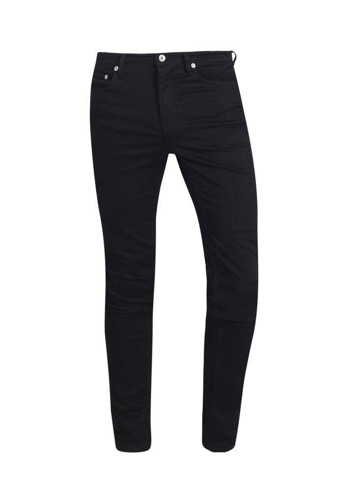 CLASSIC SKINNY // Recycled Organic Flex Classic Skinny Jeans in Black Jet - Monkee Genes Organic Jeans Denim - Organic Flex Men's Jeans Monkee Genes Official  Monkee Genes Official