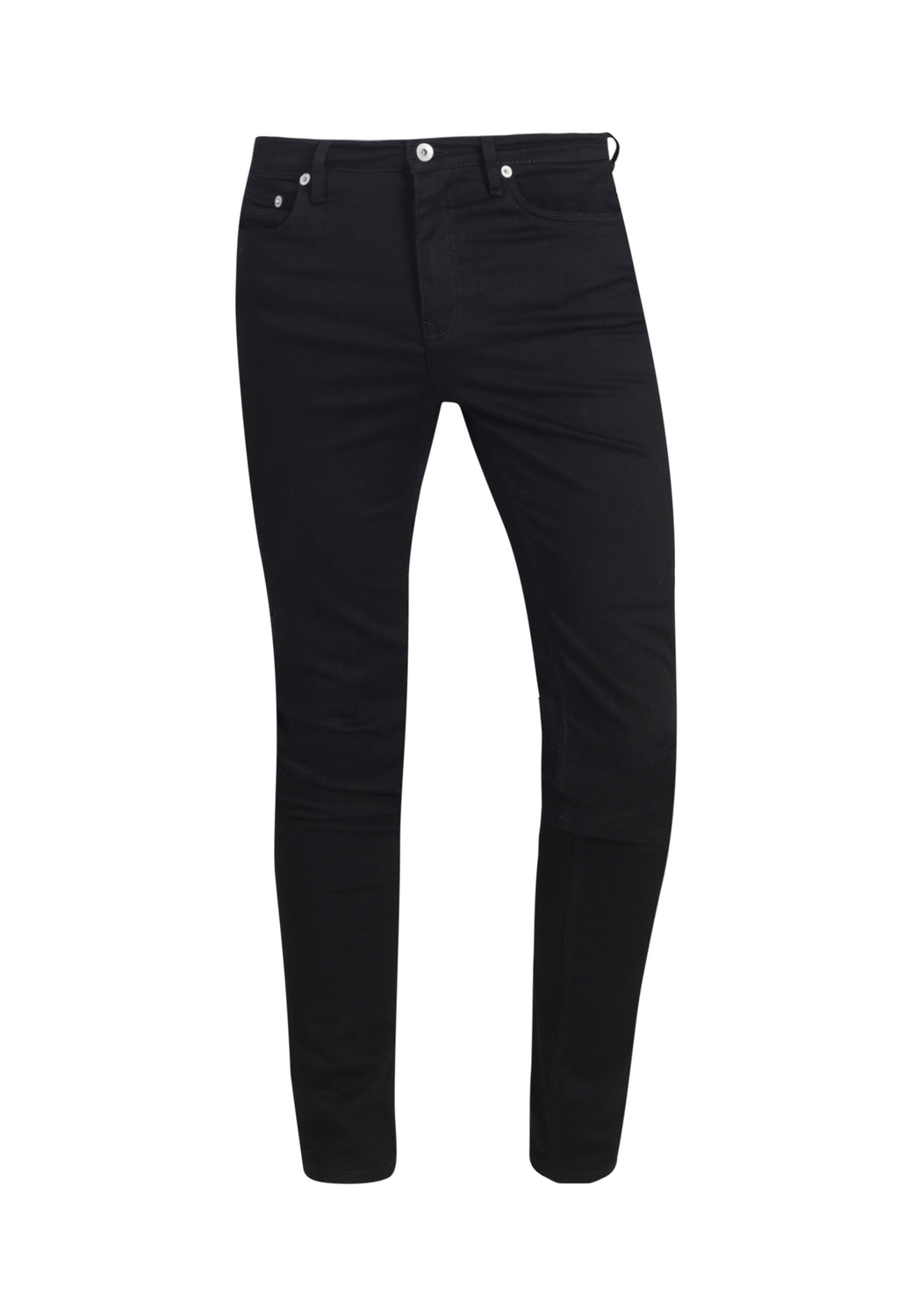 Recycled Organic Flex Black Jet Denim Classic Skinny Jeans - Monkee Genes Organic Jeans Denim - Organic Flex Men's Jeans Monkee Genes Official  Monkee Genes Official
