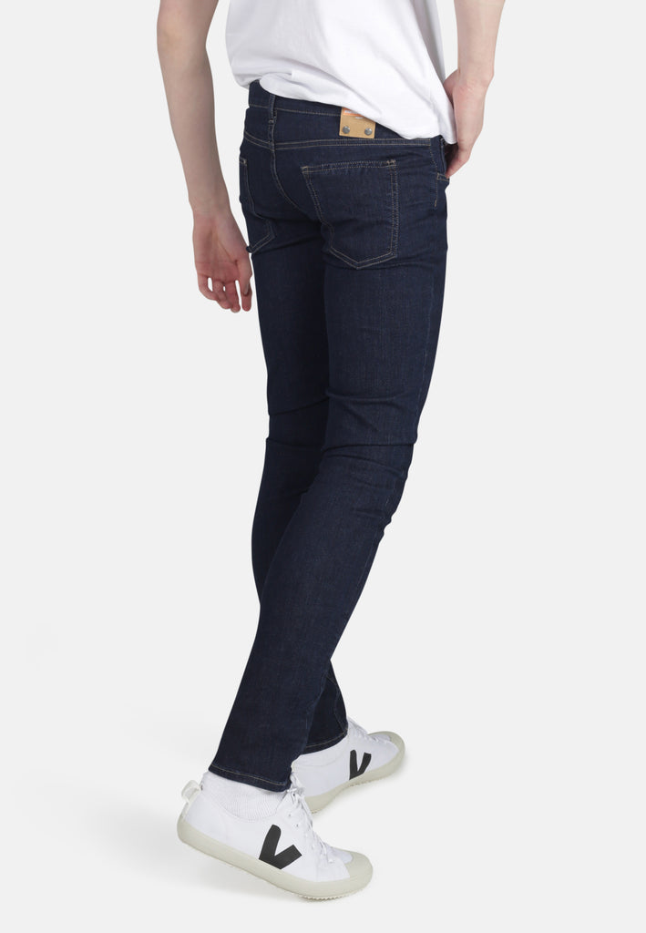 CLASSIC SKINNY // Organic Classic Skinny Jeans in Rinse Wash - Monkee Genes Organic Jeans Denim - Men's Classic Skinny Monkee Genes Official  Monkee Genes Official