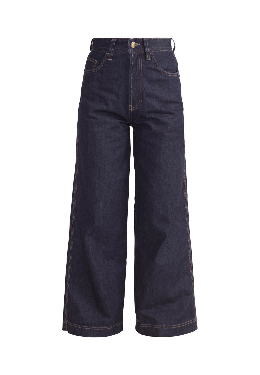 WIDE LEG // Organic Wide Leg Jeans in Rinse Wash - Monkee Genes Organic Jeans Denim - Women's Wide Fit Monkee Genes Official  Monkee Genes Official