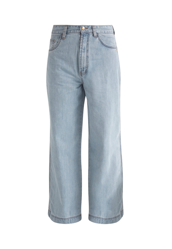 WIDE LEG // Organic Wide Leg Jeans in Light Wash - Monkee Genes Organic Jeans Denim - Men's Wide Jeans Monkee Genes Official  Monkee Genes Official
