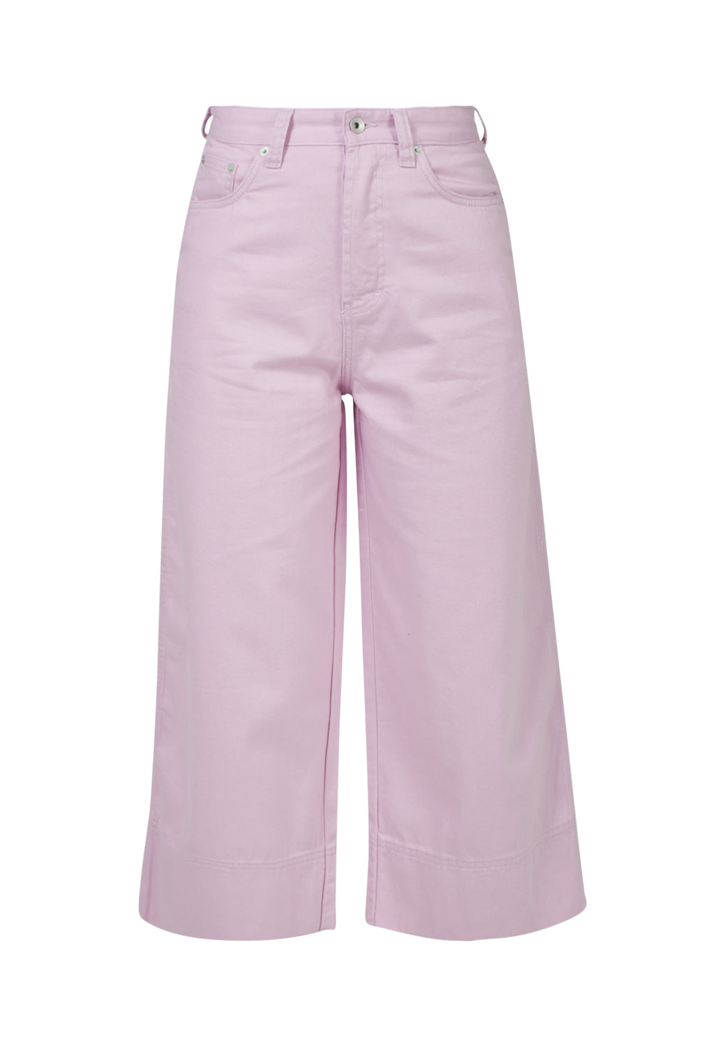 WIDE LEG // Organic Cropped Wide Leg Jeans in Pink - Monkee Genes Organic Jeans Denim - Women's Cropped Monkee Genes Official  Monkee Genes Official