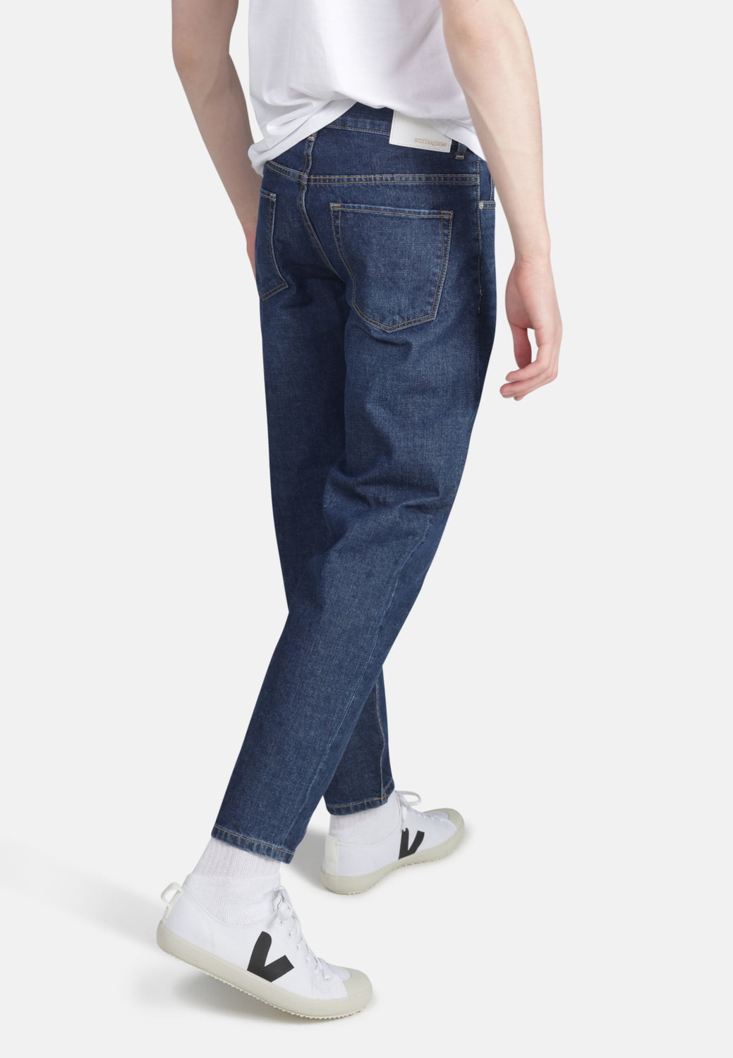 Jack Tapered Fit Organic Jeans in Dark Wash - Monkee Genes Organic Jeans Denim - Men's Tapered Monkee Genes Official  Monkee Genes Official