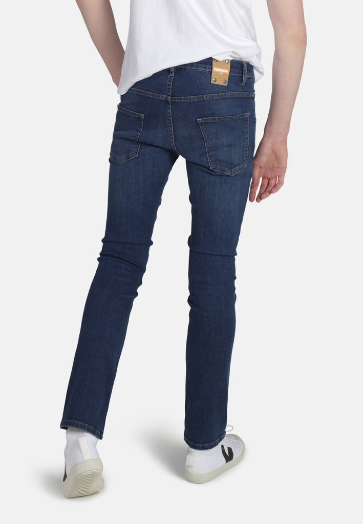 DEAN // Organic Slim Fit Jeans in Dark Wash - Monkee Genes Organic Jeans Denim - Men's Slim Fit Monkee Genes Official  Monkee Genes Official
