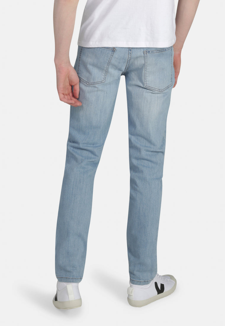 DEAN // Organic Slim Fit Jeans in Light Wash