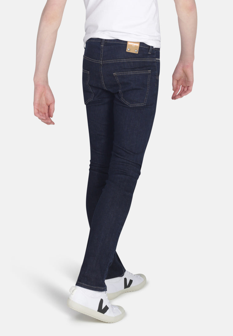DEAN // Organic Slim Fit Jeans in Rinse Wash