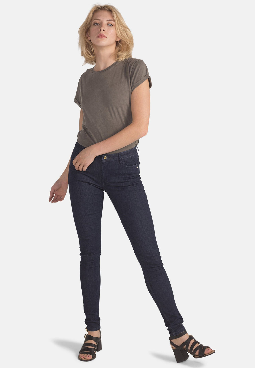 Organic Flex Super Skinny Jeans in Rinse - Monkee Genes Organic Jeans Denim - Women's Silhouette Monkee Genes Official  Monkee Genes Official