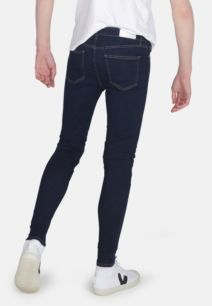 Rinse Eco Wash Cody Super Skinny Organic Jeans - Monkee Genes Organic Jeans Denim - Men's Cody Monkee Genes Official  Monkee Genes Official