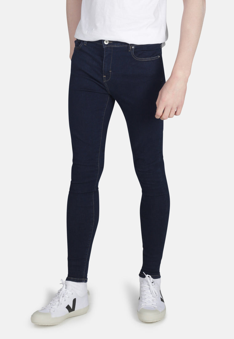 CODY // Organic Super Skinny Mid Rise Jeans in Rinse Eco Wash