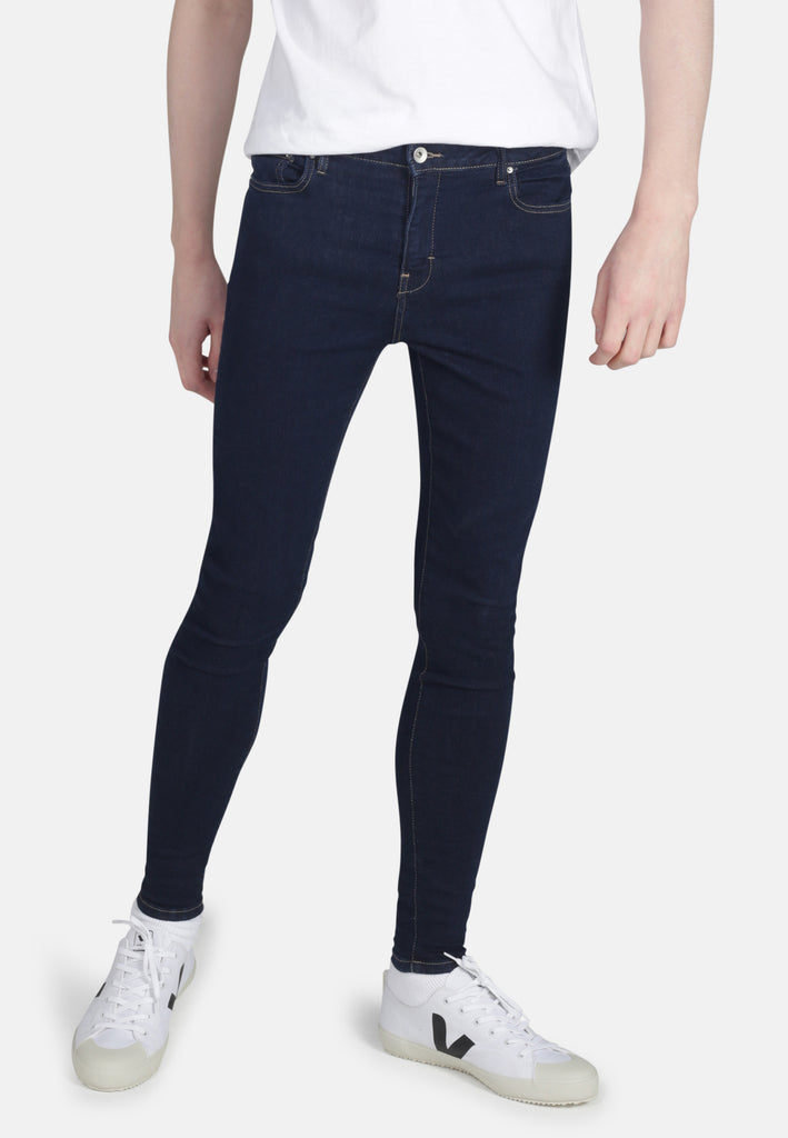 CODY // Organic Super Skinny Mid Rise Jeans in Rinse Eco Wash - Monkee Genes Organic Jeans Denim - Men's Cody Monkee Genes Official  Monkee Genes Official