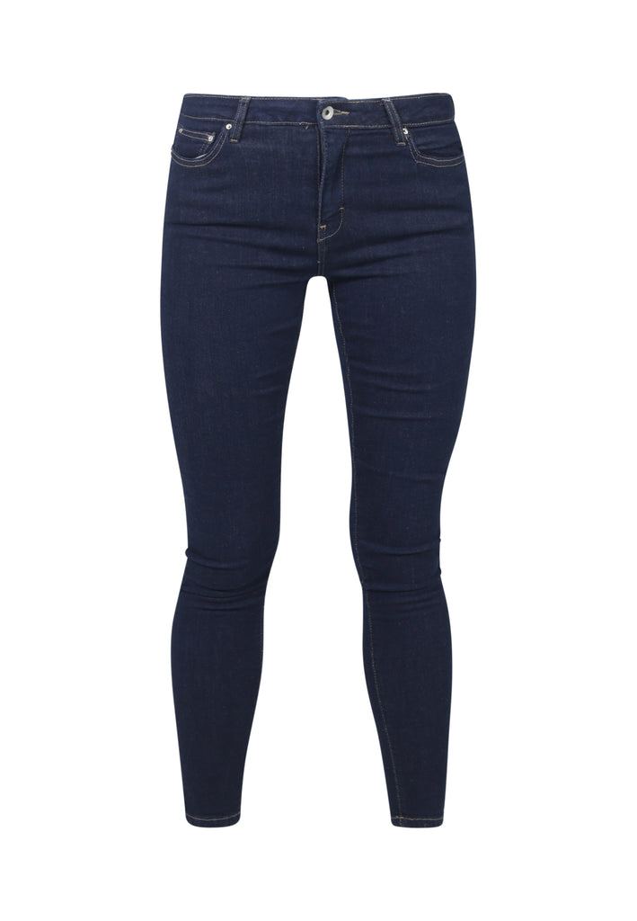 CODY // Organic Super Skinny Mid Waist Jeans in Rinse Eco Wash - Monkee Genes Organic Jeans Denim - Women's Cody Monkee Genes Official  Monkee Genes Official