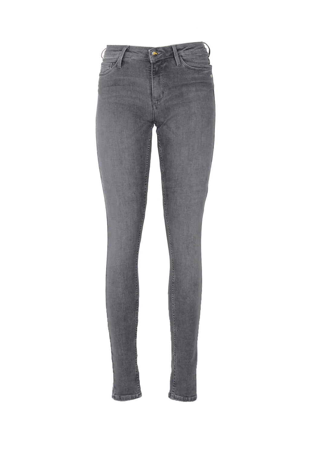 CODY // Organic Flex Super Skinny Mid Waist Jeans in Light Grey - Monkee Genes Organic Jeans Denim - Women's Silhouette Monkee Genes Official  Monkee Genes Official