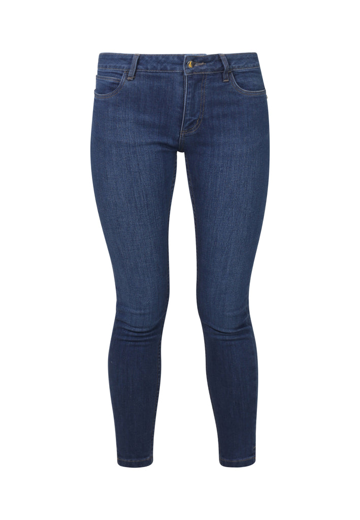 MONROE // Organic Super Skinny Ankle Grazer Jeans in Dark Wash - Monkee Genes Organic Jeans Denim - Women's Monroe Monkee Genes Official  Monkee Genes Official