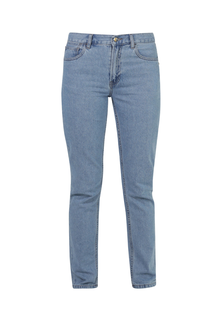 Organic Rebecca Straight Leg Jeans in Eco Wash - Monkee Genes Organic Jeans Denim - Women's Loose Fit Monkee Genes Official  Monkee Genes Official
