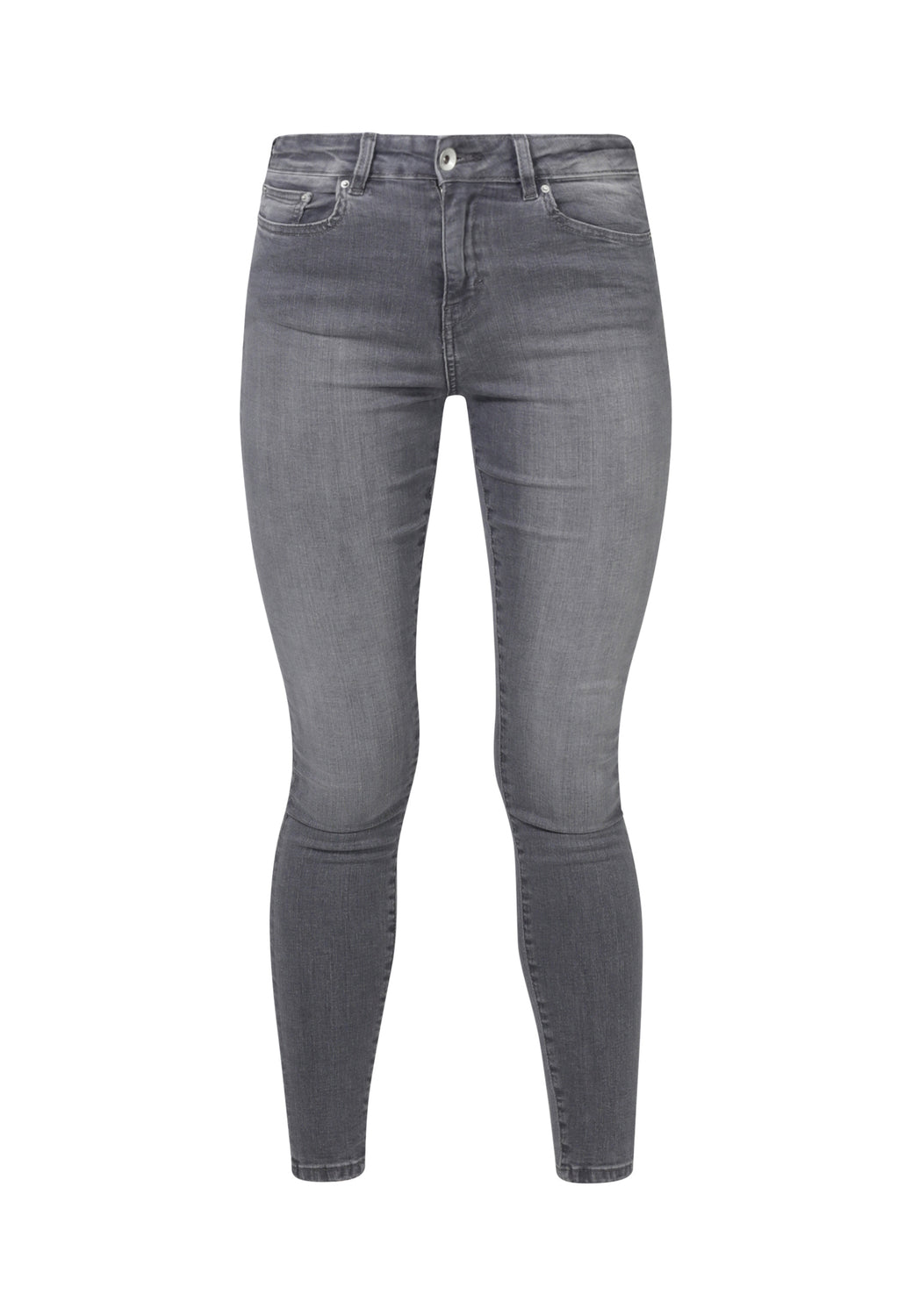 JANE // Organic Super Skinny High Waist Jeans in Light Grey Eco Wash - Monkee Genes Organic Jeans Denim - Women's Super Skinny Monkee Genes Official  Monkee Genes Official