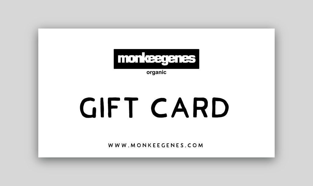 Gift Card - Monkee Genes Organic Jeans Denim - Gift Card Monkee Genes Official  Monkee Genes Official