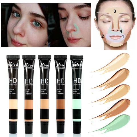 Base Maquiagem Make Up Face Concealer Cream Foundation Makeup Contour