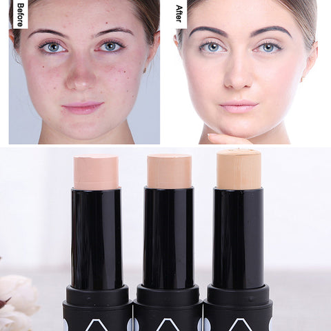 Face Foundation Concealer Contouring Makeup 3 Color Waterproof Long-lasting