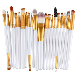 20pcs Makeup Brushes Set  Brush Cosmetic Tool