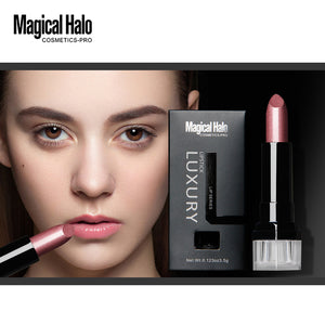 Magical Halo Long-Lasting Silky Temptation Lipstick 23 Colors Nutritious Beauty Lips