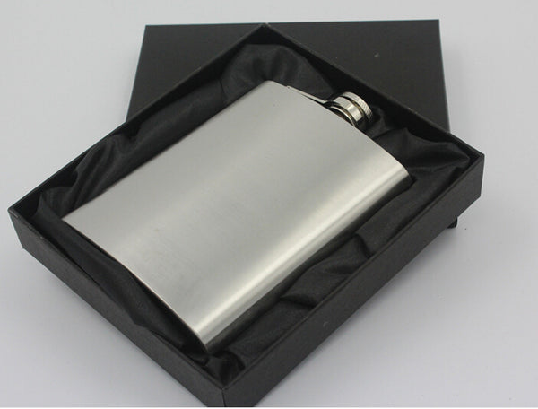 1PC mini hip flask Thickened, 8 oz, 304 stainless steel hip flask  Gifts