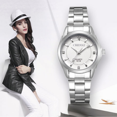 Lady Rhinestone Fashion Watch Women Quartz Women's Wrist watches - BOUTIQUEKOM