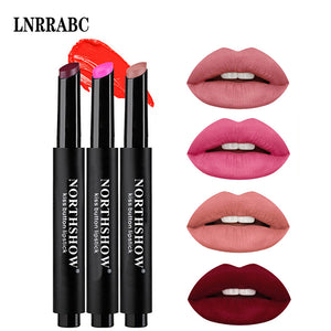 8Colors Velvet Matte Dazzling Makeup Press Lipstick