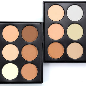 Concealer Powder Palette Foundation Facial Face Nose Contour Palette