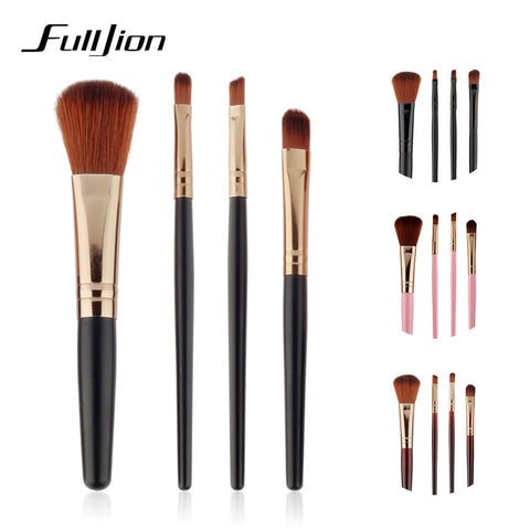 1/4PCS Professional Super Soft  Makeup Brush Make up