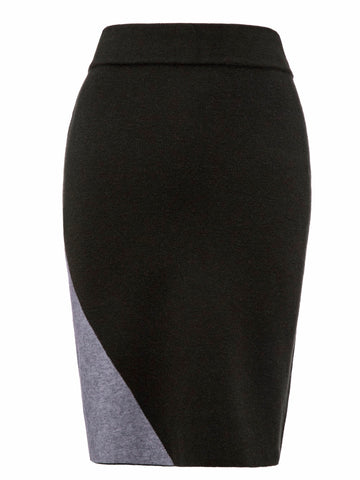 Casual Skirt Women  Elegant Knitted Fashion Slim Skirts - BOUTIQUEKOM